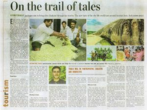 storytrails - jayasree gautham, Chennai heritage walk