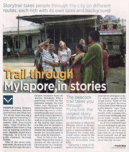 storytrails - vasudevan ananda krishnan, chennai tourist guide