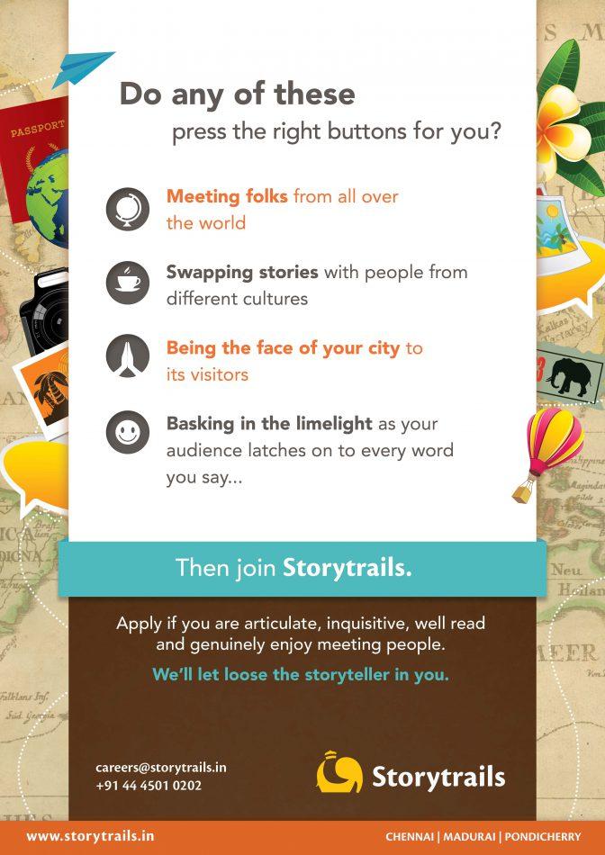 storytrails - Trails Potters, chennai tourist guide